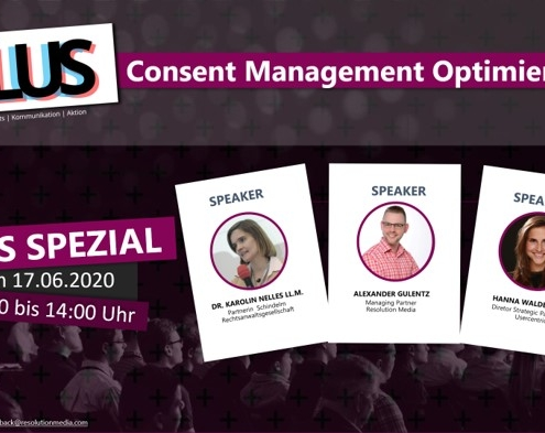 PLUS Spezial: Consent Management Optimierung
